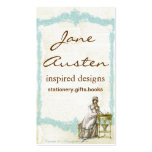 Inspired by Jane Austen Unique Business Cards