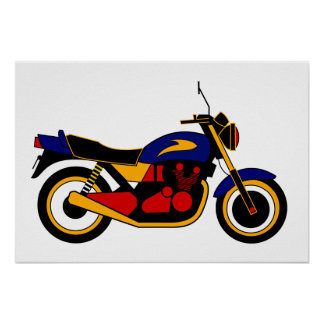 Inspired by Kawasaki Z1 Poster