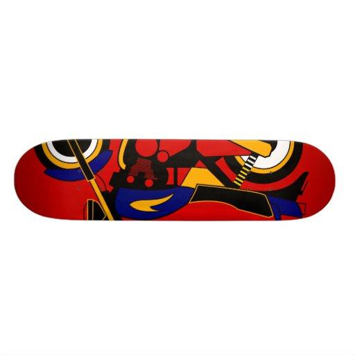 Inspired by Kawasaki Z1 Skate Board