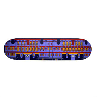 Inspired by l'Hôtel de Ville (the City Hall), Pari Skateboard Deck