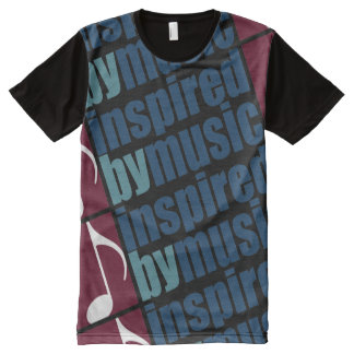 inspired by music All-Over print t-shirt