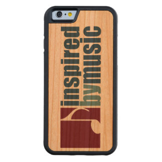 inspired by music carved cherry iPhone 6 bumper case