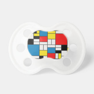 Inspired By Piet Mondrian Pacifier