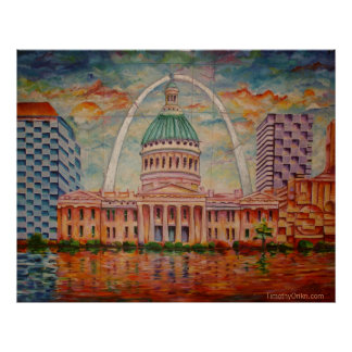 Inspired by St. Louis I - Canvas Print