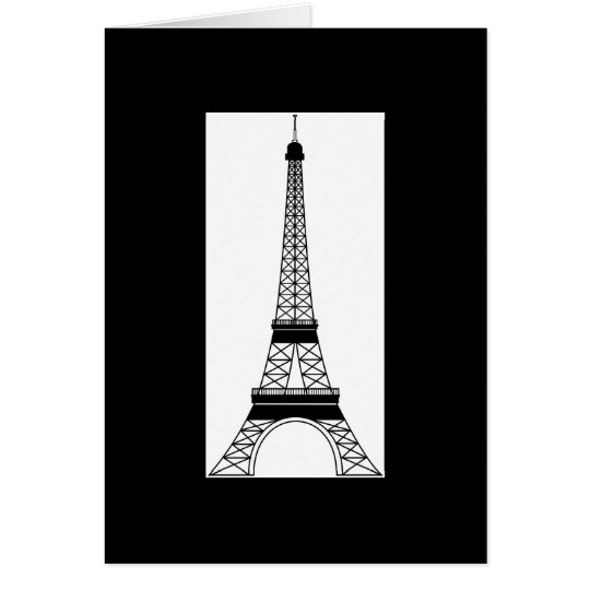 Inspired by the Eiffel Tower Card