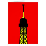 Inspired by the Eiffel Tower Greeting Card