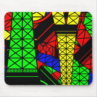 Inspired by the Eiffel Tower Mousepads