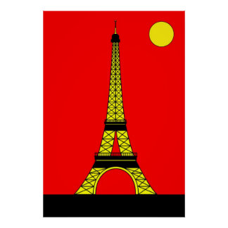 Inspired by the Eiffel Tower Poster