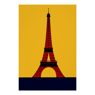 Inspired by the Eiffel Towers Poster