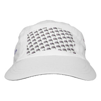 Inspired by those checkerboard hats of the 1980s