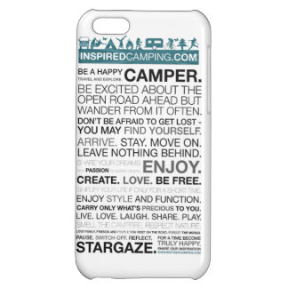 Inspired Camping iPhone 5 Case