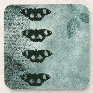 Inspired Elegant Butterflies Drink Coaster