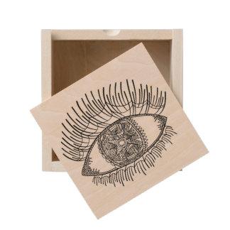 Inspired Eye Wooden Keepsake Box