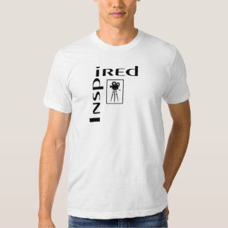 Inspired Film and Movies on Light T-Shirt