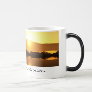 Inspired - Fire On The Water Magic Mug