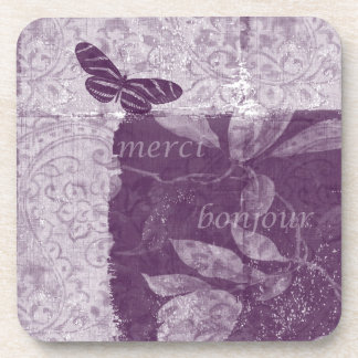 Inspired French Lilac Coaster