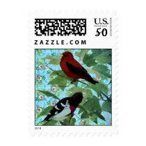 Inspired Garden Birds Postage
