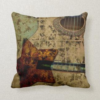 Inspired Guitar Stars Pillow