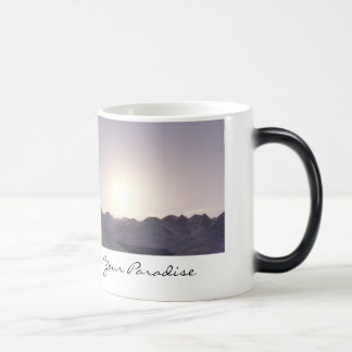 Inspired - Here Is Your Paradise Magic Mug