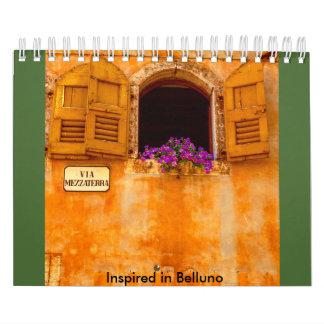 Inspired in Belluno Calendar