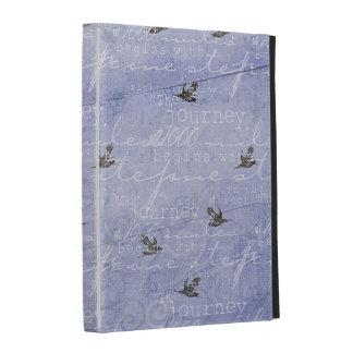 Inspired Journey Blue iPad Folio Covers