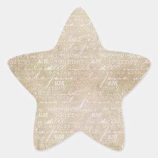 Inspired Journey Star Star Sticker