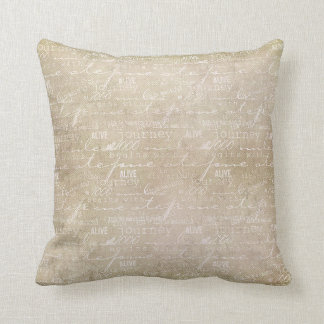 Inspired Journey Throw Pillow
