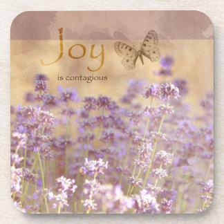 Inspired Joy Lavendar Coaster