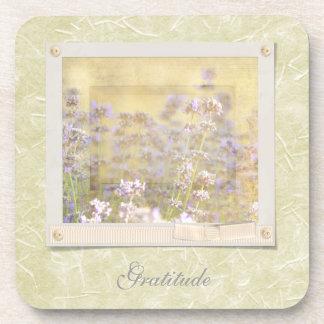 Inspired Lavender Beverage Coaster