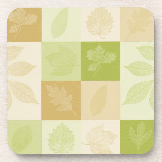 Inspired Leaves Drink Coaster