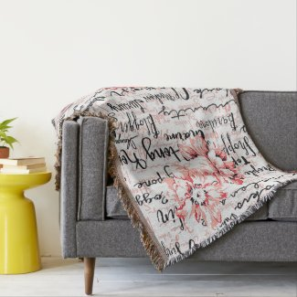 Inspired Life Cozy Throw Blanket