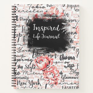 Inspired Life Prayer Journal Travel Diary Planner