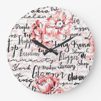 Inspired Life Round Wall Clock