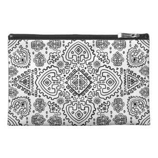 Inspired Mexican Tribal Pattern Travel Accessory Bag