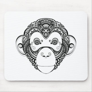 Inspired Monkey Design Mouse Pad