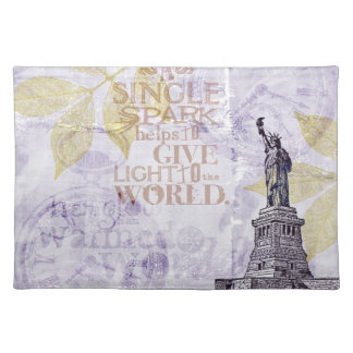 Inspired New York Liberty Cloth Placemat