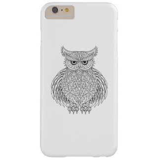 Inspired Owl Bird Totem Barely There iPhone 6 Plus Case