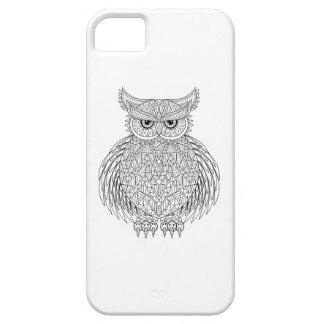 Inspired Owl Bird Totem iPhone SE/5/5s Case