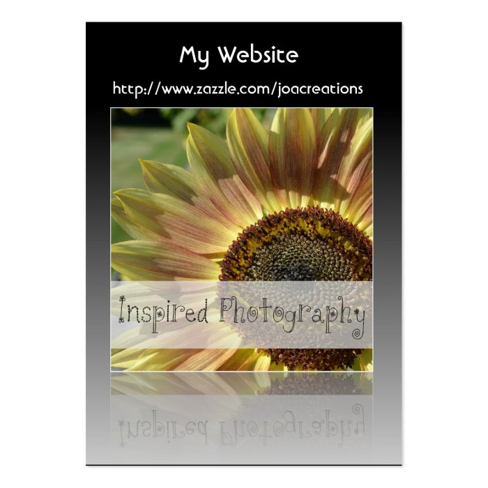 Inspired Photography Large Business Card