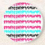 Inspired Pink Mettlervision Coaster