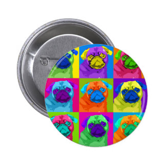 inspired Pug Button