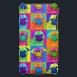 "inspired Pug Ipod Touch Speck Case<br><div class=""desc"">Smug like a Pug</div>"
