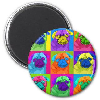 inspired Pug Magnet