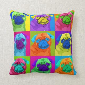 Inspired Pug Pillow