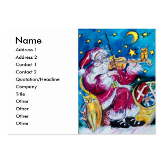 INSPIRED SANTA LARGE BUSINESS CARDS (Pack OF 100)