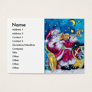 INSPIRED SANTA BUSINESS CARD