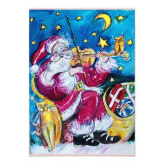 INSPIRED SANTA , CHRISTMAS PARTY INVITATION