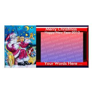 INSPIRED SANTA CHRISTMAS PHOTO TEMPLATE