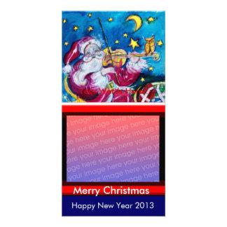 INSPIRED SANTA CHRISTMAS PHOTO TEMPLATE PHOTO CARD