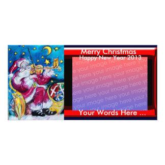 INSPIRED SANTA CHRISTMAS PHOTO TEMPLATE PHOTO CARD TEMPLATE